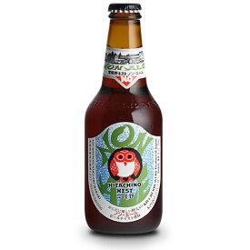 お酒 敬老の日 ギフト プレゼント 常陸野ネストビール ノン・エール(ビールテイスト飲料) 330ml×24本 茨城県 木内酒造 ノンアルコールビール 国産クラフトビール・地ビール ケース販売 楽ギフ_のし