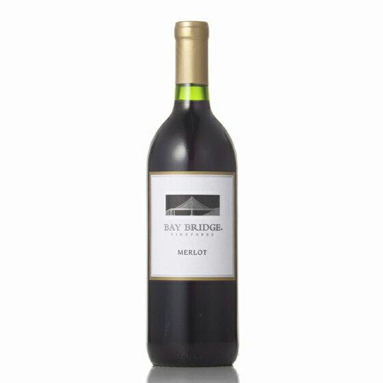 父の日 プレゼント ギフト ベイ・ブリッジ メルロー 赤 750ml 12本 アメリカ カリフォルニア 赤ワイン コンビニ受取対応商品 ヴィンテージ管理しておりません、変わる場合があります ラッキーシール対応 ケース販売