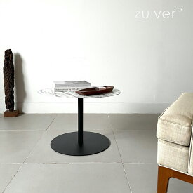 Zuiver 大理石柄 大理石風 テーブル ローテーブル サイドテーブル モノクロ インテリア おしゃれ ホワイト 黒 スチール 丸 コーヒーテーブル ナイトテーブル 白 ブラック コンパクト モダン マーブル柄 円型
