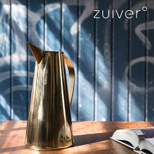 ZUIVER/DUTCHBONE じょうろ 2.5リットル 北欧 おしゃれ 室内 おすすめ アンティーク調 インテリア ゴールド ステンレス スリム 観葉植物 水差し