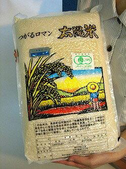 【(常温便)送料無料/一部地域別途/クール代別途】ときわ村契約栽培米(つがるロマン) 白米 5kg※自然農法米 ※30年度米(TZ)※6月中旬頃〜新米への切替時期までは真空パック包装。他は通常包装)