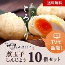 送料無料・TBSの人気番組で紹介された/ねりものの世界/「煮玉子しんじょう」10個詰合せ 練り物/ねりもの