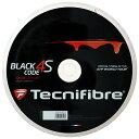 テクニファイバー ブラックコード4S 200Mロール (120/125/130) 硬式テニス ポリエステル ガット(TECNIFIBRE BLACK CODE 4S 200M Reel)【2015年5
