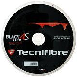 テクニファイバーブラックコード4S200Mロール(120/125/130)硬式テニスポリエステルガット(TECNIFIBREBLACKCODE4S200MReel)【2015年5月登録】