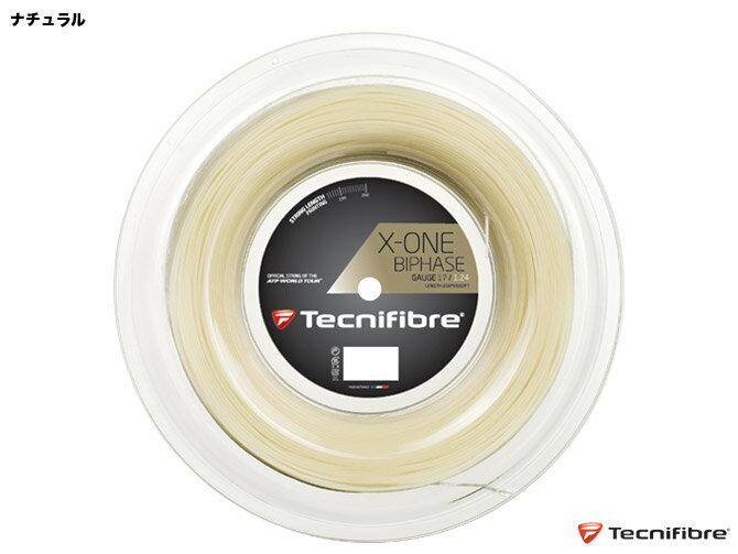 テクニファイバー エックスワンバイフェイズ(1.24mm/1.30mm) 硬式テニス マルチフィラメントガット(X-ONE BIPHASE 1.24mm/1.30mm)TFR902/TFR901