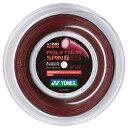 ヨネックス ポリツアースピンG (125mm) 200Mロール 硬式テニス ポリエステル ガット(Yonex Poly TourSpin G )PTGG125-2