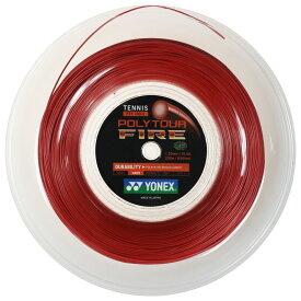 ヨネックスポリツアーファイア200Mロール(1.20mm/1.25mm/1.30mm)硬式テニスガットポリエステルガット(YONEXPOLYTOURFIRE200MReel)【2015年12月登録】