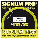 【12Mカット品】シグナムプロ トリトン(1.18/1.24/1.30mm) 硬式テニス ポリエステル ガット(Signum Pro Triton)