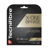 【12Mカット品】テクニファイバーエックスワンバイフェイズ(1.24mm/1.30mm)硬式テニスマルチフィラメントガット(X-ONEBIPHASE1.24mm/1.30mm)TFG902/TFG901