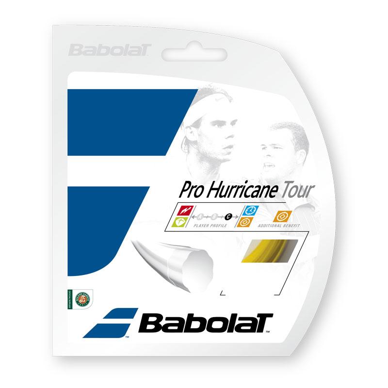 【12Mカット品】バボラ プロハリケーンツアー(120/125/130/135)硬式テニス ポリエステル ガット (Babolat ProHurricane Tour)24107/241102