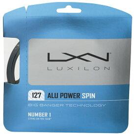 国内未発売【12Mカット品】ルキシロン アルパワー スピン(1.27mm) 硬式テニスガット ポリエステルガット(Luxilon BB ALU Power Spin 1.27 String)