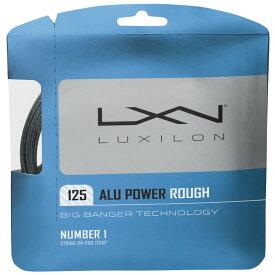【12Mカット品】ルキシロン アルパワー ラフ(1.25mm) 硬式テニスガット ポリエステルガットLuxilon BB ALU Power Rough1.25 String WRZ9902