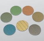 【NCA】AH−XFSフロアポリッシャー用大理石用(ダイヤモンド研粒研磨布紙)グレー/青/黄/黒