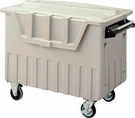 ゴミ箱 収集箱 ダストカート #500(ブレーキ付) 山崎産業 YD-140L-PC
