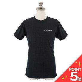 【お買い物マラソン★ポイント5倍】Off-White オフホワイト 半袖Tシャツ OMAA027R191850751001 3D CARRYOVER S/S SLIM TEE メンズ 男性 スリムフィット クルーネック BLACK ブラック S-XL 【送料無料 並行輸入品】