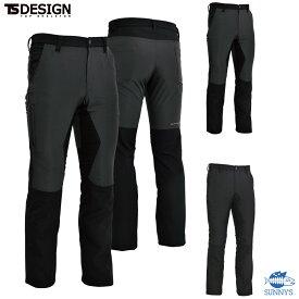 【正規品】6L 撥水 ハイブリッド ストレッチ ズボン パンツ おしゃれ かっこいい デザイン 作業服 作業着 TS DESIGN TS デザイン【84634】メンズ レディース SS S M L 2L 3L 4L 5L 6Lサイズ