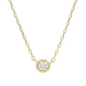 me.luxe エムイーリュクス K10 ダイヤモンド ネックレス 95-1291
