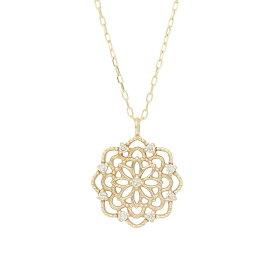 me.luxe エムイーリュクス K10 ダイヤモンド ネックレス 95-1292