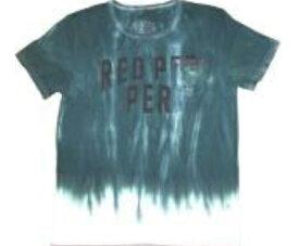 段染めロゴTシャツ メンズ【REDPEPPERJEANS/レッドペッパージーンズトップス正規品】【お買い得/バーゲン/セール/激安/特価】【RCP】