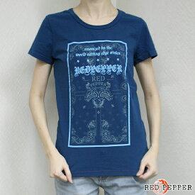 RED PEPPER JEANS レッドペッパージーンズ レディース 顔料染めバンダナ柄Tシャツ 71LT-41