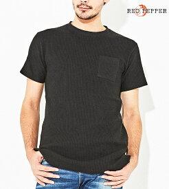 RED PEPPER JEANS レッドペッパージーンズ メンズ サーマル半袖Tシャツ 81MT-35
