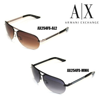 ARMANI EXCHANGE(阿玛尼交换)太阳眼镜AX254F/S AL2 JD BRW LT BRW AX254F/S MM4 JJ BLACK GREY