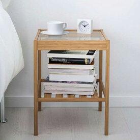 【送料無料】【IKEA (イケア)】ベッド サイドテーブル NESNA ネスナ 北欧 ガラス