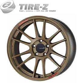 215/40R18 18インチ ENKEI エンケイ GTC01 RR チタニウムゴールド 7.50-18 NITTO ニットー NT555 G2 サマータイヤホイール4本セット
