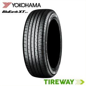 【取付対象】4本 サマータイヤ BluEarth ヨコハマ ブルーアース XT AE61 235/60R18 103W