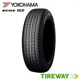 【取付対象】4本 サマータイヤ ECOS ヨコハマ エコス ES31 165/65R15 81S