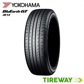 【取付対象】2本 サマータイヤ BluEarth ヨコハマ ブルーアース GT AE51 235/55R17 99W
