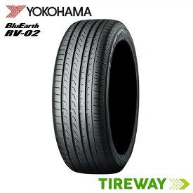 【取付対象】4本 サマータイヤ BluEarth ヨコハマ ブルーアース RV-02 225/45R18 95W XL