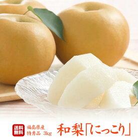 梨の匠 贈答用/最上等級/特秀 福島県産 梨「 幸水」「豊水」「南水」「あきづき」「新高」3キロ(8〜13玉)超新鮮朝摘みでお届けいたします!抜群の甘さ、みずみずしさ!甘さ溢れる果汁!