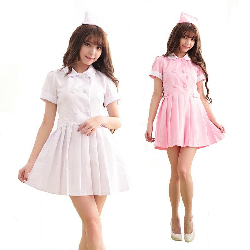 【2】あす楽 プリーツスカート コスプレ 看護婦 白衣天使 女子制服 衣装 コスプレ コスチューム 仮装