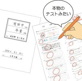 色紙 「テスト色紙」プレゼント 寄せ書き 記念品 色紙額 大人数 卒業 部活 先生