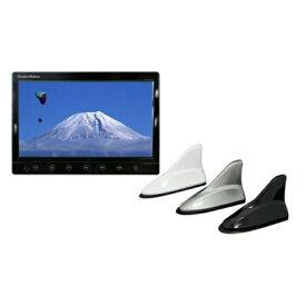 ドリームメーカー 10.1インチ液晶カーTV [TV101B + シャークアンテナ2個セット] [フルセグチューナー内蔵]