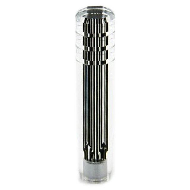 JET スリットラインシフトノブ ブラック 200mm 1個 [口径:12×1.25(10×1.25 AD付)or 12×1.75(いすゞ4t/大型用)] [562015_016]