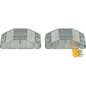JET 中間サイドランプレンズ 小糸タイプ(高さ50mm) クリアー [24V/25Wアンバーバルブ付] [502642]