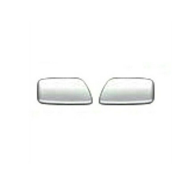 JET ドアハンドルボタンカバー L/R UD大型 クオン(H17.1〜 ●新型OK)用 [572207] ●取付:両面、材質:樹脂メッキ