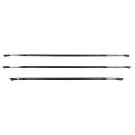 JET フロントグリルトリムセット[ブラッククローム] いすゞ大型 ファイブスターギガ[2015ギガ](H27.11〜) 用 ※ステンレス製 かぶせ式 [573324]