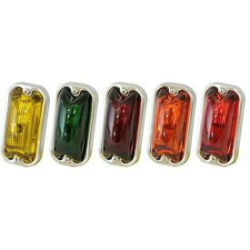 JET 角型マーカーランプ(角マーカー) 前方開閉式 (24V6W電球付) [ガラスレンズ] [633942-951]