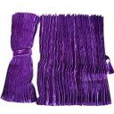アコーディオン式仮眠カーテン [コスモス:パープル(紫) ] w2,400mm×h800mm 2枚入(4t〜大型用)