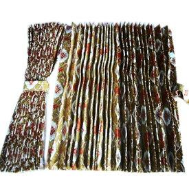金華山 仮眠カーテン 大花束 アコーディオンタイプ 2,400×800mm 2枚入 4t〜大型用
