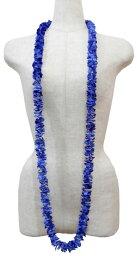 草裙舞服裝花環夏威夷人花環花花環夏威夷花卉裝飾活動Fra BL-05 pikakeroareiburu藍