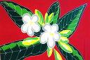 Plumeria sarongred