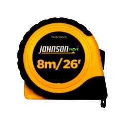 JohnsonLevel(ジョンソンレベル)8mメジャースケール(インチ/メトリック併記)コンベックス巻尺