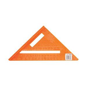 Johnson Level(ジョンソンレベル) 7インチキャストスクエア定規(インチ表記) アメリカ製丸のこガイド直角定規三角定規ツーバイフォー2x4、2x6