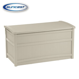 [SUNCAST(サンキャスト)] 50ガロンデッキボックス(ホワイト) 組み立て簡単、メンテナンスフリー DB5000