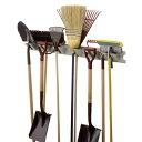 [SUNCAST]ロングツールハンガー(プラチナ)●ガーデン用品、掃除道具をスッキリ収納