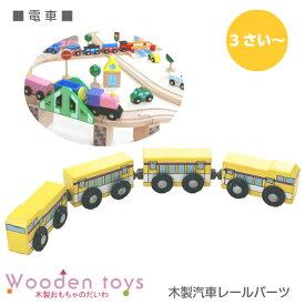 木のおもちゃ電車(木製汽車レール)【 木製レール 】